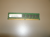 Micron MT18HTF12872AY-667D4 1GB Desktop Memory. DDR. 200715. DDAA9NK003. 2RX8 PC2-5300E-555-12-GO. Refurbished. Pulled from a XPS PC.