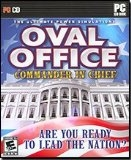 Oval Office. Commander in Chief. 047875357259. Model: 35725.206.US. E for everyone. 10+ Are you ready to lead the nation. PC CD-ROM. PC CD.