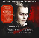 Sweeney Todd, The Demon Barber on Fleet Street. The Movie Motion Picture Soundtrack. 2007. New. DVD. Starring Johnny Depp. UPC: 075597996135.