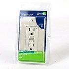 Leviton CI-C31-07599-12A, 078477316412, PK-97017-25-00-0A. Ivory. Smartlockpro. Marfil. 7599, 15A-125V. GFCIB Outlet. Please consult electrician before installing. New.