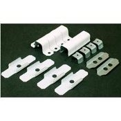 Wiremold On Wall Model: BWH9-10-11. Metal Accessories Pack. UPC: 086698568794. White