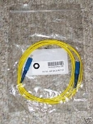 New Single Mode 2 Meters SC to SC Symplex Fiber Jumpers New in package SCSCSIMSM-2M