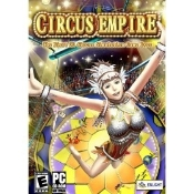 Circus Empire PC CD-ROM. New in retail box. UPC: 646662101374. The first 3D circus simulation game ever. Roll up! Roll up! The Circus is in town. Come see the greatest show around!