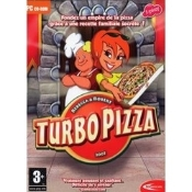 Turbo Pizza Action Arcade. UPC: 879429002182. E for Everyone. PC CD-ROM. Launch a pizza empire starting with a secret family recipe!