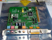 UPC: 795745000377 Model: AV512. 6 CHANNEL PCI SOUND CARD AUDIO