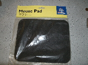 PC Accessories A67230 Black Mouse Pad. Improves tracking. Anti-Static quality canvas. Long lasting durable rubber base. UPC: 736353672303. Model: A67230.