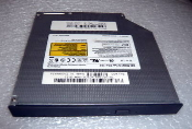 Dell 00J146 24x Internal Black IDE Slimline CD-ROM Drive with Faceplate. Optiplex GX150 GX240 GX260 GX270. Used. Samsung CD-Master24E. Model: SN-124. 5V 1.5A. Rev A01. Pulled from working laptop.