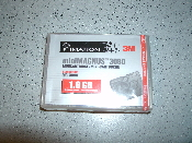 Imation Minimagnus MC3080 data cartridge compatible with QIC-3080-MC tape drives. 1.6GB native capacity, 3.2GB compressed. MiniCartridge. New. OEM. UPC: 051111461839.
