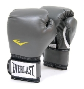 Everlast 2754 Advanced Training Gloves, Grey. New. Ta:14. 14oz. UPC: 009283524074.