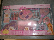 Barbie Fashion Make Up Set. Part: 80360. New. For ages 5 and up. 29 piece play set. 045672803603.