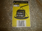 UPS 011468 Heavy Package Sticker. New. 70 lbs+/31.5 kg+. 40 Stickers.