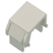 Legrand On-Q Light Ivory Blank Insert. UPC: 804428024712. Model: WP3455-LA. 10 per package.