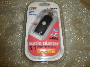 i Dream Audio Blaster 5.1 Channel Effect Sound with USB Cable. New. U-AD20. USB. Free 5.1 Multi Sound Effect Software. Windows and MAC. Desktop and Laptop.