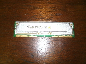 Samsung MR18R1624AF0-CK8 RDRAM 128MB / 4, 800-45 ECC. Refurbished. Pulled from a working computer.
