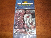 Oklahoma Sooners OU 3D Motion Pine Air Freshener. New. 874037241398.