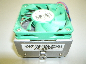 "AMD CPU Fan. Refurbished. 44217182. BCPU10000043906. 1 7/8"" X 1 7/8""."
