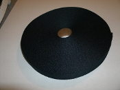 "Nylon Webbing 1"" X 200' Roll. New. Black Color."