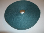 "Nylon Webbing 1"" X 200' Roll. New. Teal Color."