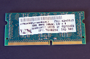 IBM 76H0294 Non Parity SO DIMM 32MB 66MHz 3.3V SDRAM. 4M X 64, 144-PIN, Serial-PD, Low Power. 20L0789. 29L5485. FRU: 42H2819, 29L5485. 78H5090. 13T4644MPB 10T. New.