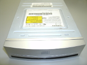 Samsung SW-224B/TG9 CD ReWritable with Silver Bezel. SW-224. 24X. CDRW. CD RW. Refurbished. IDE.