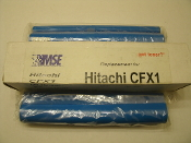 Hitachi CFX1 Fax Thermal Transfer Ribbon. CFX-1, CFX-1PC, CFX-2. Compatible. 09-22-0114. New. 2 Refill Rolls.