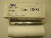 MSE Canon 350 Kit. New. H11-6143-210. Fax Thermal Transfer Ribbon. 09-06-35114. 1 Roll of Paper and 1 Roll of Fax Transfer Fax Film.