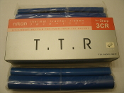 Sharp 3CR Fax Film Thermal Transfer Ribbon Rolls. New. 2 Rolls. FO-780, FO-880, UX-470, E800. Compatable. Nikan Brand. T.T.R.