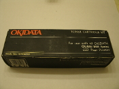Okidata 52104201 Black Laser Toner. New. OL400, OL800, OL810, OL820, OL830, OL830 Plus, OL840, OL850, DOC-IT 3000, DOC-IT 4000. OKIFAX L25, L35, 2000, 2100, 2300. B2000, 2100 and 2100. 051851350103.