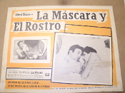 "La Mascara y El Rostro Movie Poster. Charlie Bubbles. 1967. Spanish. Starring: Albert Finney, Lisa Minnelli. 16 1/4"" X 12 5/8""."