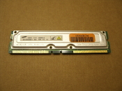 Samsung MR16R082GBN1-CG6 256MB RDRAM PC600 184-Pin non-ECC Rambus Memomy. Refurbished. R18R8GC1.
