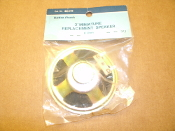 "Radio Shack 40-248 3"" Minature Replacement Speaker. 8 Ohm, 9A3, MAX2W. 3J03. New. Retail Package."