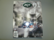 NY Jets 2001 Yearbook. Official Yearbook of the New York Jets. 725274981120.