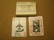 Aircraft Recognition Playing Cards. 44-2-10. Used. Very Good Condition. Revision of GTA-44-2-6. Graphic Training Aid. GTA 44-2-10. I-53. US Army.