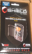 Motorola Clutch 1465 Invisible Shield. New. Zagg. 843404035069. New. Retail Package.