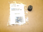 Quest R-134A Protective Cap. 447. High Side. New. 047876004473. Black. Plastic.