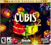 Cubis 2 Video Game. 1035-10373. E for Everyone. New. 811930103736. Mumbo Jumbo. Fresh Games. 0811930103736.