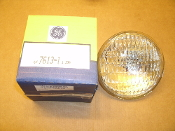 GE All Glass Sealed Beam lamp. New. MCG361-A3H. Res. #4113297. Halogen Lamp. 6V 7613-1. 1.33A.
