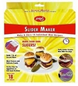 Jokari 05023 Slider Maker. New. Make and Store 18 Individual Mini Burgers. 032368050236. Retail Package.