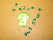 "Shimmering Shamrocks #Sham-N. 30"" Necklace. New. # Sham-N. 722950092637. Lucky Charms Necklace. Happy St Paddies Day. Happy St Paddyies Day."
