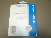 Dell Laser Priner 3100cn Owners Manual With Drivers CD. 2005. Used. 602E87903/T4062A01. MB3098X3-3. P/N K4998 Rev. A02. F P/N 121K34576.