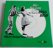 The Swing Era. The Music of 1938 1939. Used. Time Life Records. 64 Page Book. 1971. 72-752212.