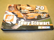 "Tony Stewart #20 Photo Album. New. 807730063004. Holds 16 4"" X 6"" Photos. 3 Sheets for Race Information and Autograghs. Home Depot Driver. NASCAR."