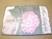 Hydrangea Flower Sign. 400026285502 New. This sign can be hung on the wall or placed in the garden.