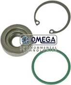 Omega Environmental Technologies 21-32504-G. New. Shaft Lip Seal Kit GM Compressor TEFL.LIP. GPD# 1311245. K13-3125. Single Lip Seal. Calsonic- V5-15C, V5-15F, V5-15G. GM/Harrison- DA6, HD6, HR6, HR6HE, HT6, R4, V5, V5 (Destroker)