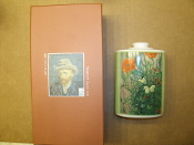 Vincent Van Gogh Incense Bottle. 080050. New. Butterflies and Poppies. 44T545.