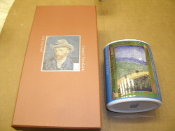 Vincent Van Gogh Incense and Fragrance Bottle. 80049. New. Bridge in the Rain. 44T545. CIB.