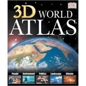DK 3D Eyewitness World Atlas. New. 798936829078. LD3DWATLAJ. Discover in depth, dynamic, georaphical informayion: Bio Climate Zones, Envirnment, Natural Disasters, Landscape Formation, Global Climate, Continental Drift.