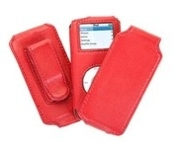Griffin Trio for Nano. Red. Carry Your iPod in Style. 685387061105. 6110-NOLFSA. New. Genuine leather. Retail Package. Custom Fit Case For iPod nano. Trio for nano. Slim Sleeve. Detachable Flip Cover. Detachable Belt Clip.
