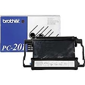 Facsimile Ribbon Printing Cartridge. Compatble with Brother® PC-201, PC201, and PC202RF, PC-202RF, PC-202-RF. Intellifax 1170, 1270, 1570MC, MFC 1770, MFC, 780, MFC, 1870MC, MFC 1970MC. UPC: 000001720037.