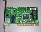 Kingston KNE30T NIC 10/100 Card.